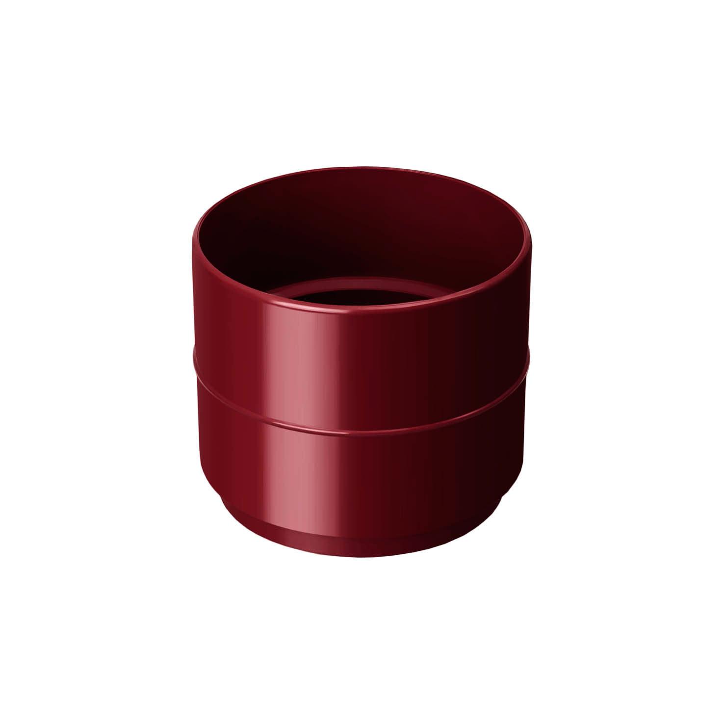 Муфта трубы 4 (Красный)