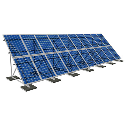 Система крепления SRS балластные для плоских крыш