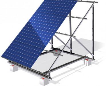 Система крепления SRS для плоских крыш