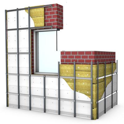 Подконструкции для фасадных систем
